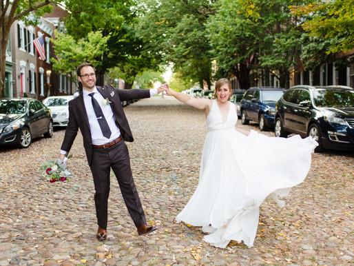 Julia & Nick   Carlyle House Wedding   Alexandria, VA Wedding Planner
