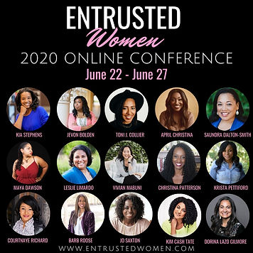 Entrusted Women 2020 Online Conference B