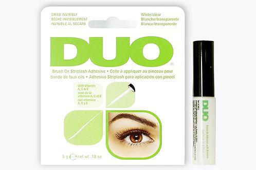 White DUO Brush-On Adhesive, 5G