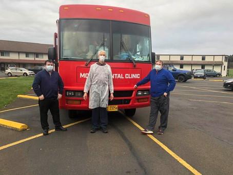Mobile Dental Van Provides Free Care