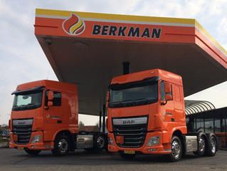 Met DAF loopt het gesmeerd bij Berkman Energie Service