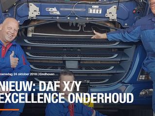 excellence-onderhoud bij de DAF dealer