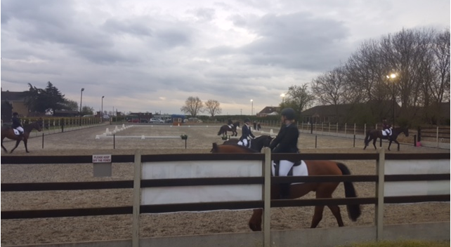 Evening Dressage League 28th April 2016