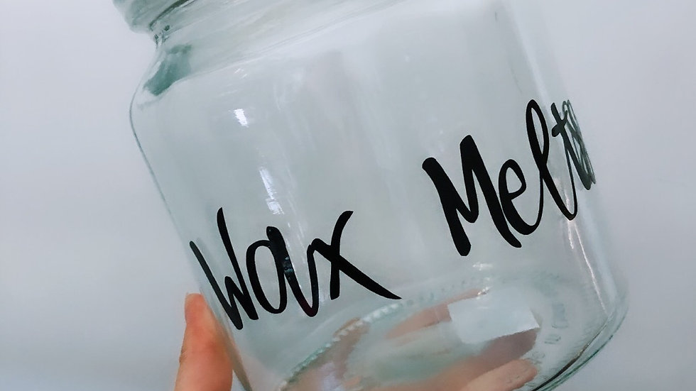 Wax Melt Jar