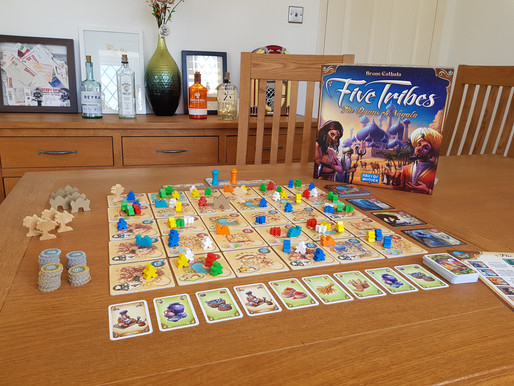 Board Game Review: Five Tribes