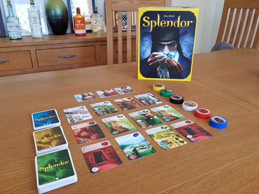 Board Game Review: Splendor