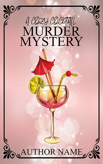 Cozy Cocktail Mysteries (4 covers)