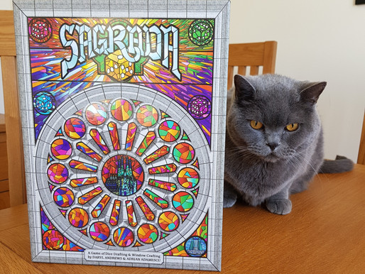 Board Game Review: Sagrada