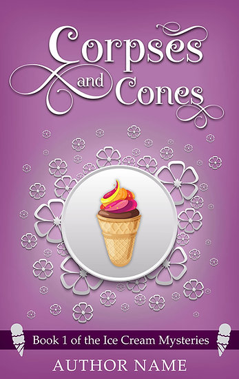 Ice Cream Mysteries (3 covers)