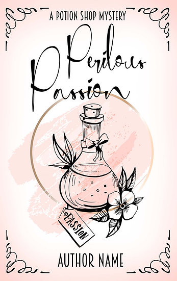 Potion Shop Mystery (3 covers)