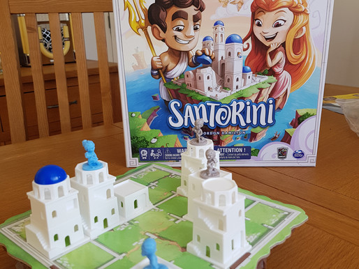 Board Game Review: Santorini