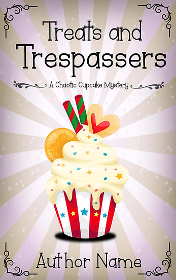 Chaotic Cupcake Mysteries (4 covers)