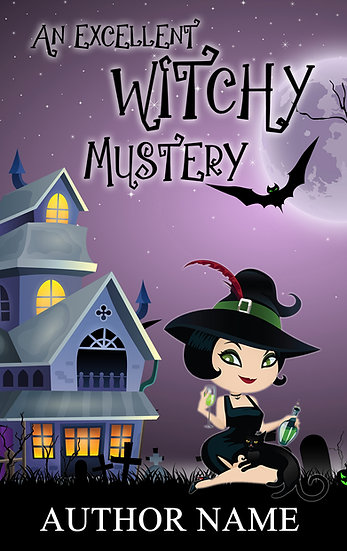 A Witchy Mystery (5 covers)