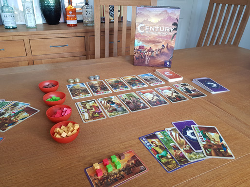 Board Game Review: Century Spice Road