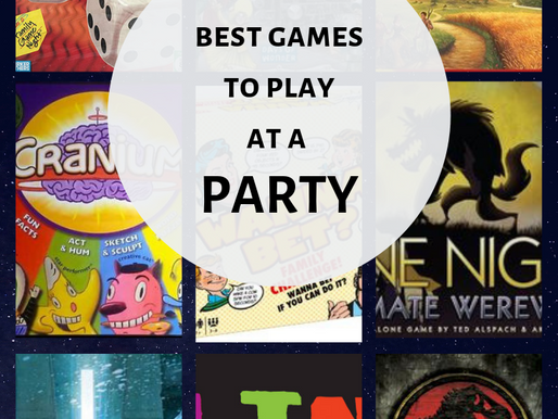 The Best Games To Play At a Party