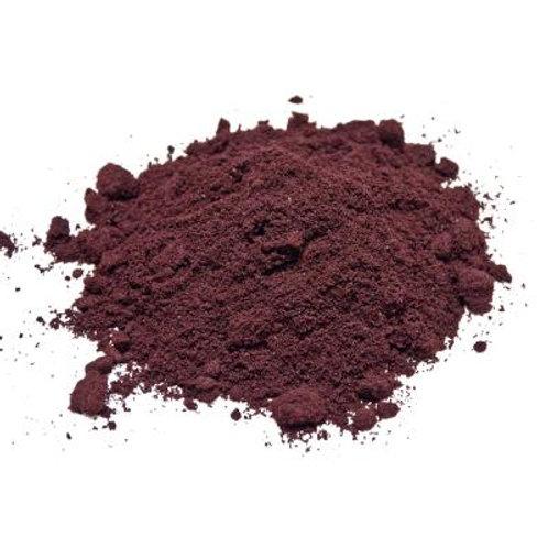 Acai berry fruit juice powder