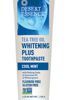 Desert Essence Whitening Plus Toothpaste