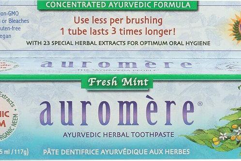 Auromere Fresh Mint Ayurvedic Toothpaste
