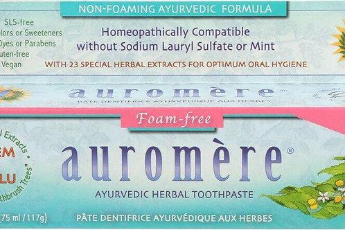 Auromere Foam-Free Cardamom-Fennel Ayurvedic Toothpaste
