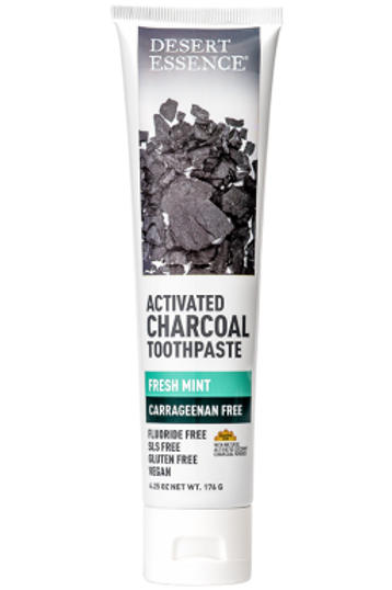 Desert Essence Activated Charcoal Toothpaste