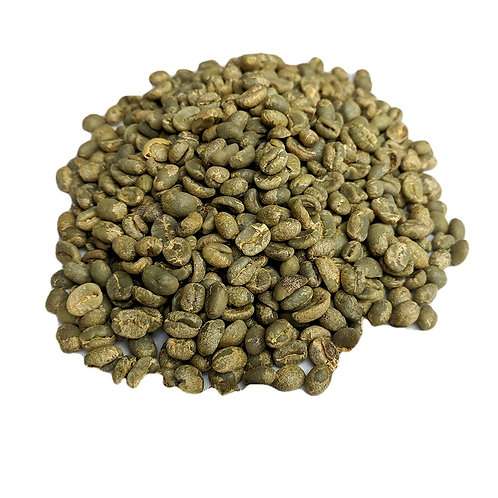 Coffee beans green whole