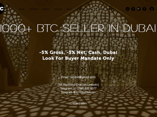 OTCbid - Bitcoin Hits $29K for First Time Ever, Raising HODLer Hopes for $30K by New Year's