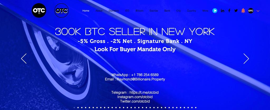 OTC desk trading for wealthy individuals, billionaire