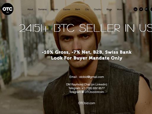 OTCbid - Bitcoin Just Broke $600B —Soon Eclipse Tesla, Facebook, Google, Microsoft, Amazon, Apple