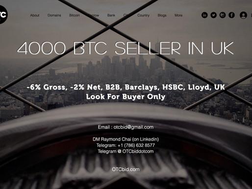 OTCbid - Bitcoin Suddenly Primed For A Surprise $400 Million Shock