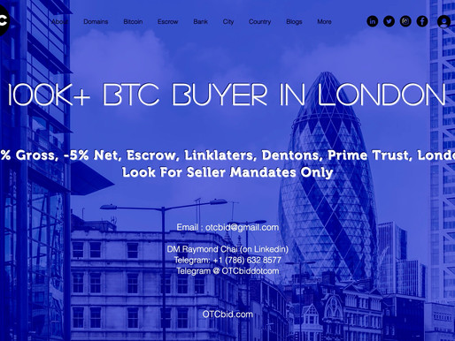 OTCbid - As Bitcoin's Price Surges, Affluent Investors Start to Take a Look