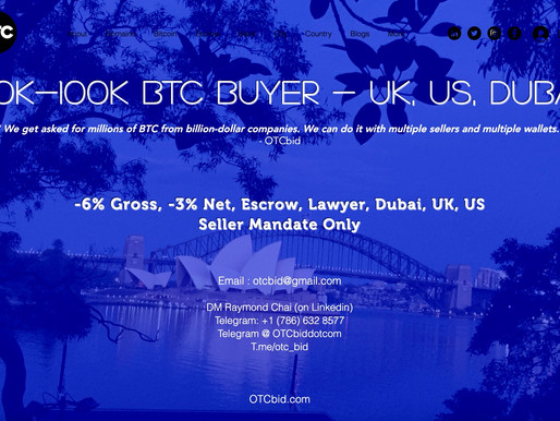 OTCbid - Bitcoin 539,841,475 % ROI compared with art, diamond, property and domain names.