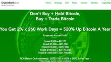 CryptoBank.Ltd - Don't Buy + Hold Bitcoin, Buy + Trade Bitcoin