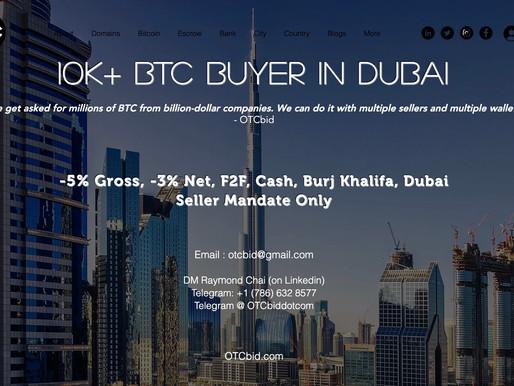 OTCbid - Bitcoin rises 8% to $48,861.48