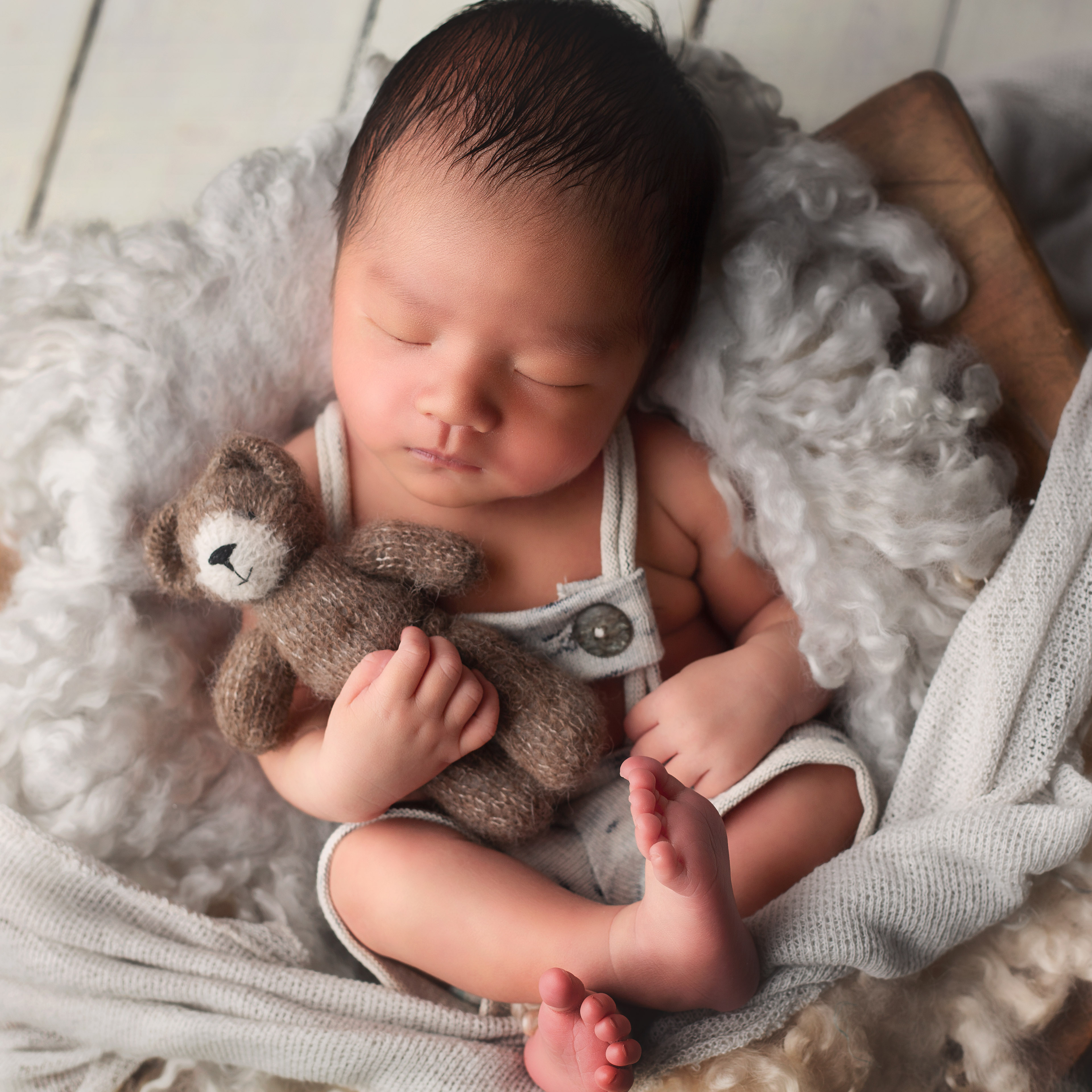 Newborn Photography Picture With Love
