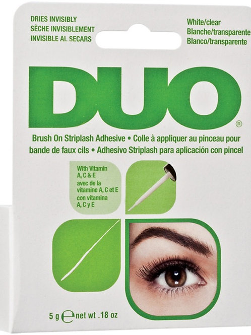 DUO- White/Clear