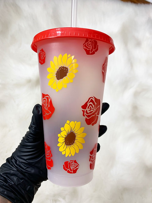 Sunflower/Rose Cup