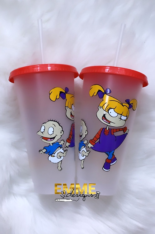 Rugrats- Angelica & Tommy