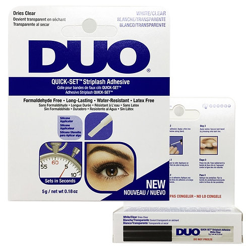 NEW! Duo Quick Set Clear Adhesive
