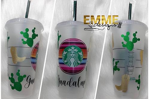 Serape custom cup