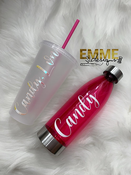 Cup and Bottle Bundle