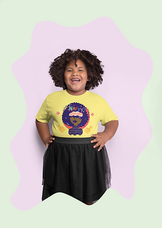 plus-size-tee-mockup-of-a-curly-haired-g