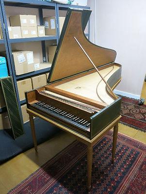 New harpsichord after Lefebvre for sale