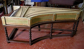 restoring celini harpsichord