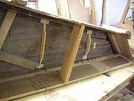 Inside Harpsichord During Restoration