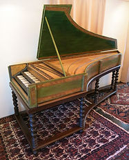17th century harpsichord by Celini, restoration complete