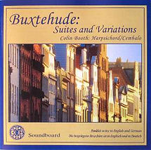 Buxtehude - Suites and Variations | Colin Booth Harpsichord/Cembalo