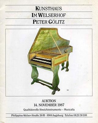 Celini, auction poster