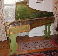 unrestored celini harpsichord