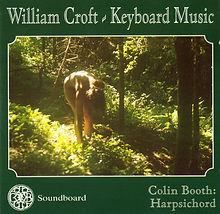 William Croft Keybaord Music | Colin Booth Harpsichord