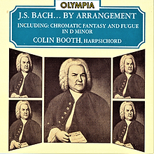 J.S. Bach Cover Photo - showing portraits of Bach